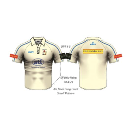 Elton CC SENIOR Playing Shirt - Short Sleeve