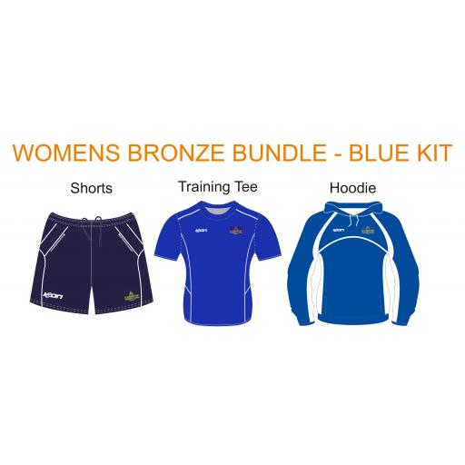 Alkrington Tennis Club Womens Bronze Bundle - Blue