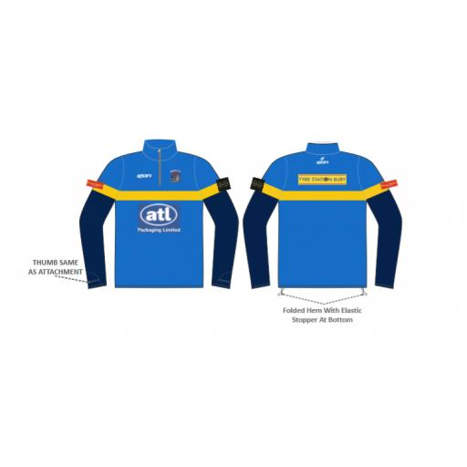 Elton CC SENIOR 1/4 Zip Sublimated Training Top