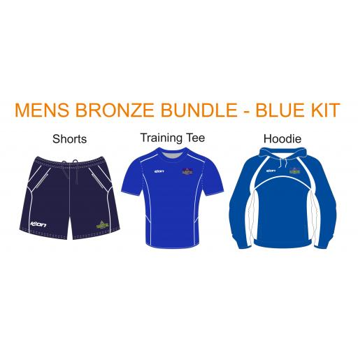 Alkrington Tennis Club Mens Bronze Bundle - Blue Kit