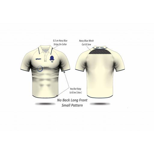 Highfield CC Playing Shirt - Short Sleeve (no sleeve sponsors)