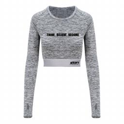 ICON Athletic Girlie Long Sleeve Crop T