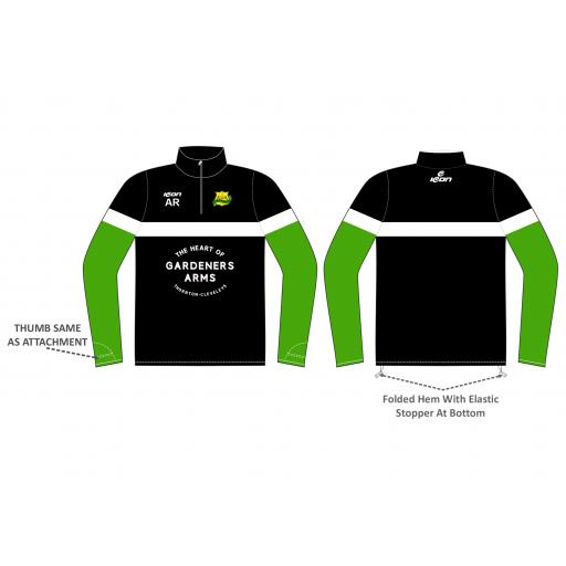 Norcross CC 1/4 Zip Sublimated Training Top
