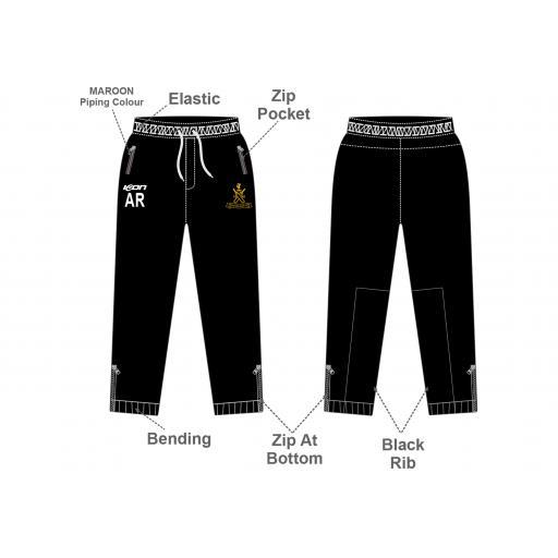 Sefton Park CC Slim Fit Track Pants