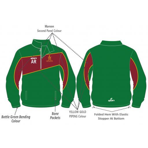 Sefton Park CC Training Jacket - 1/4 Zip