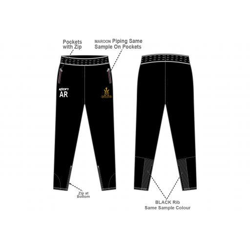 Sefton Park CC Skinny Fit Track Pants