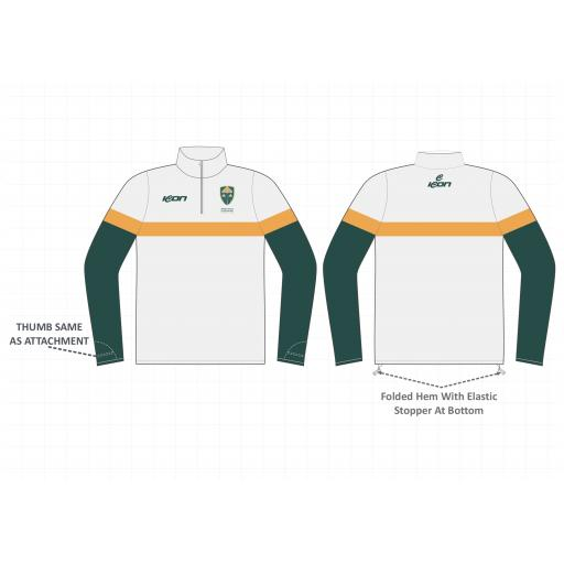 North East Cheshire CC 1/4 Zip Sublimated Top