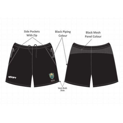 North East Cheshire CC Training Shorts