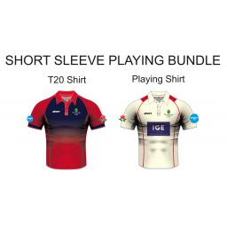 Myerscough Cricket (Manchester) Playing Bundle - Short Sleeve