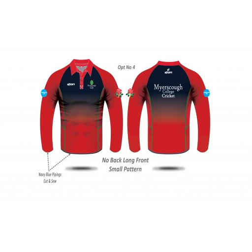 Myerscough Cricket (Manchester) T20 Shirt - Long Sleeve