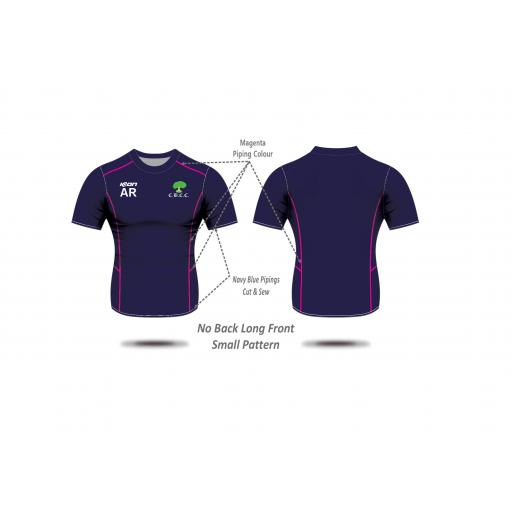 Colwyn Bay CC Ladies Training T-shirt