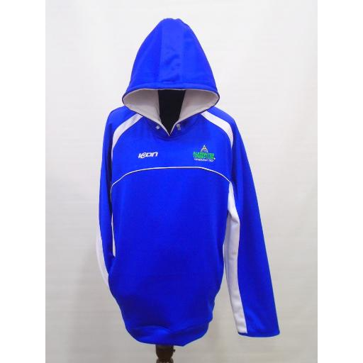 Alkrington Tennis Club Womens Hoodie - Blue