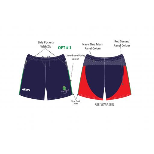 Myerscough Cricket (Manchester) Shorts