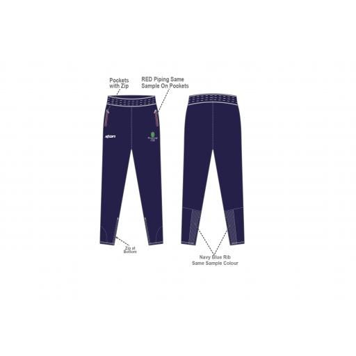 Myerscough Cricket (Manchester) Skinny Fit Pant