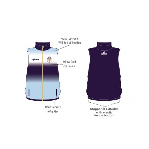 Fleetwood Hesketh CC Gilet