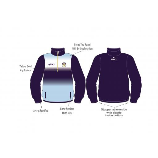 Fleetwood Hesketh CC 1/4 Zip Training Top
