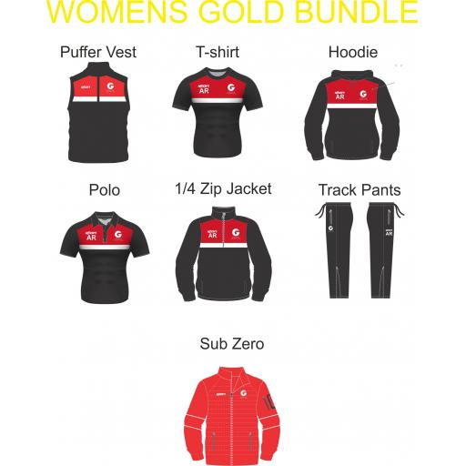 Garstang Hockey Club - Women's Gold Bundle