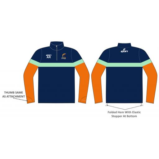First Cricket Training Jacket - 1/4 Zip