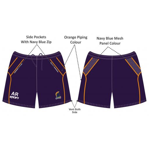 First Cricket Training Shorts