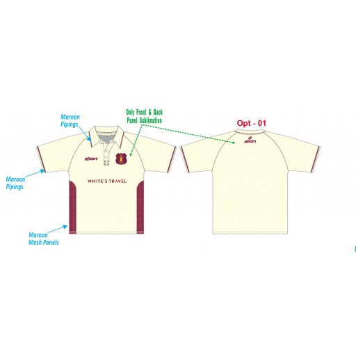 Welton CC Playing Shirt - Short Sleeve