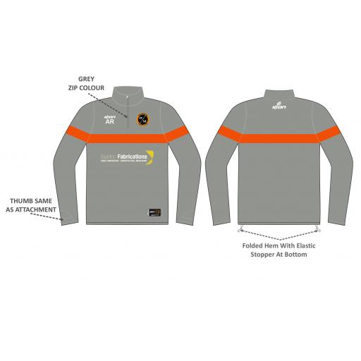 West Monkton Training Jacket - 1/4 Zip