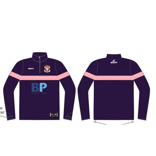 Blackpool CC 1/4 Zip Sublimated Training Top