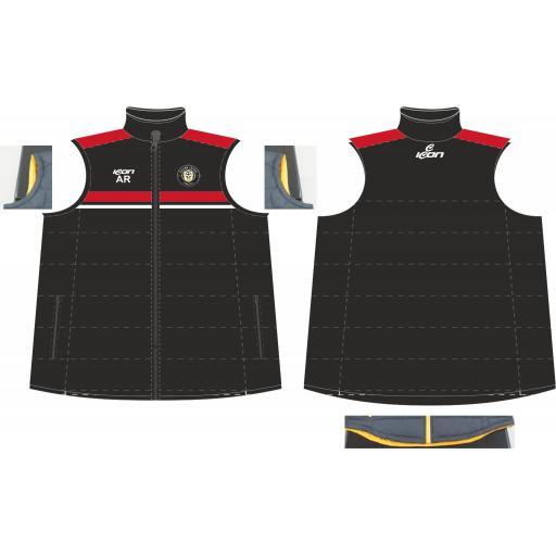 Stone Cross FC Puffy Vest