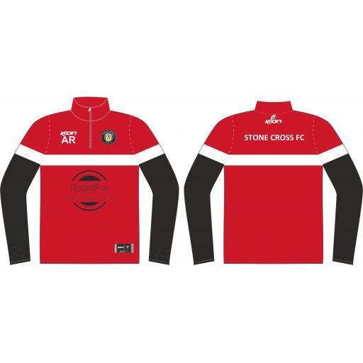 Stone Cross FC Training Jacket - 1/4 Zip
