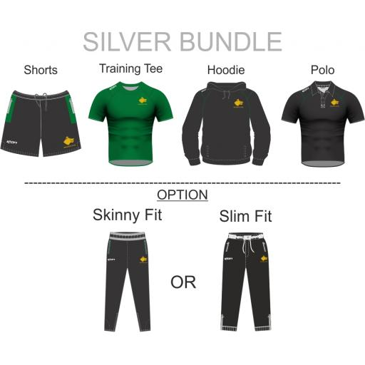 WALSDEN CC TRAINING KIT BUNDLE - SILVER