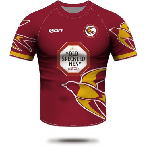 Fordhouses CC Short Sleeve T20 Shirt (with sponsor logo)