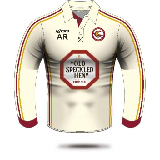 Fordhouses CC Long Sleeve Playing Shirt (with sponsor logo)