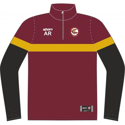 Fordhouses 1/4 Zip Sublimated Training Top