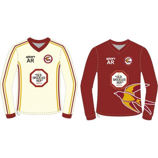 Fordhosues CC Reversible Sweater - Long Sleeve (with sponsor logo)