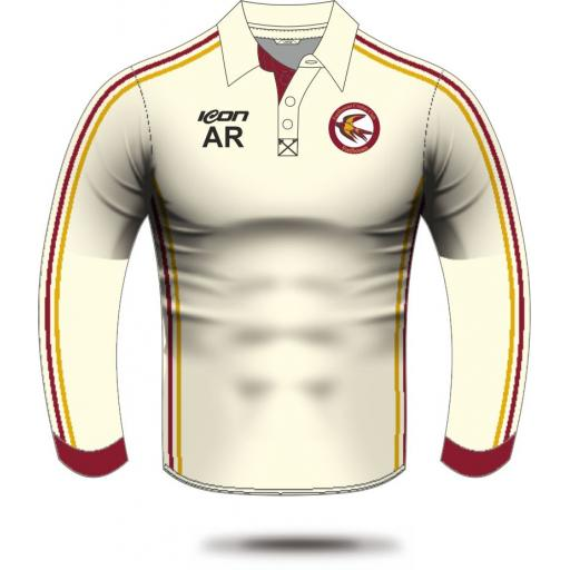 Fordhouses CC Long Sleeve Playing Shirt (without sponsor logo)