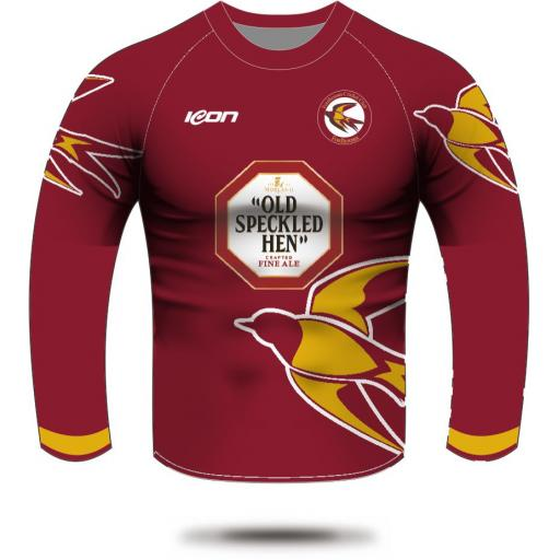 Fordhouses CC Long SleeveT20 Shirt (with sponsor logo)