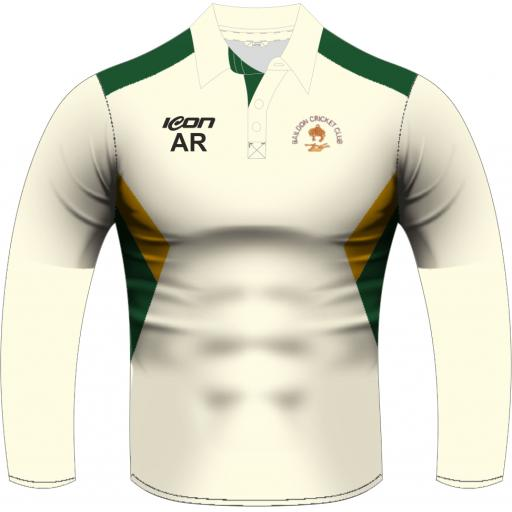 Baildon CC Playing Shirt – Long sleeve - No Sponsor Logo
