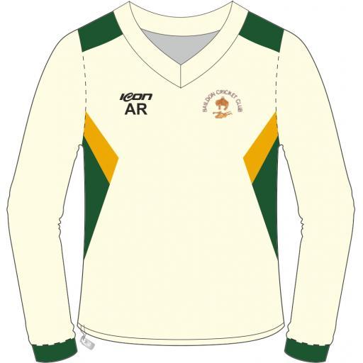 Baildon CC Long Sleeve Sweater - No Sponsor Logo