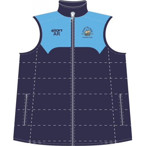 Portslade CC Puffy Vest