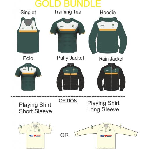 North East Cheshire CC Bespoke Gold Bundle