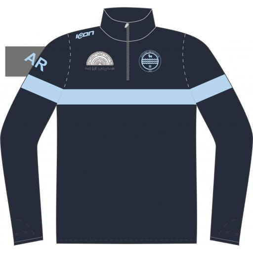 Saltaire CC Sublimated 1/4 Zip Training Top