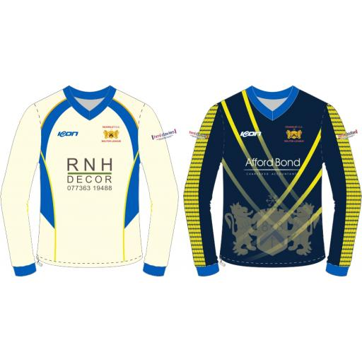 Kearsley CC Reversible Cricket Sweater - Long Sleeve