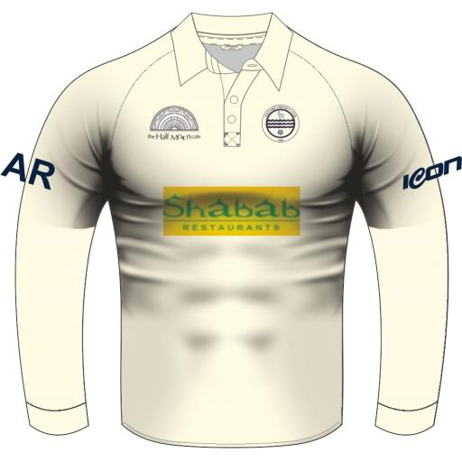 Saltaire CC Playing Shirt - Long Sleeve