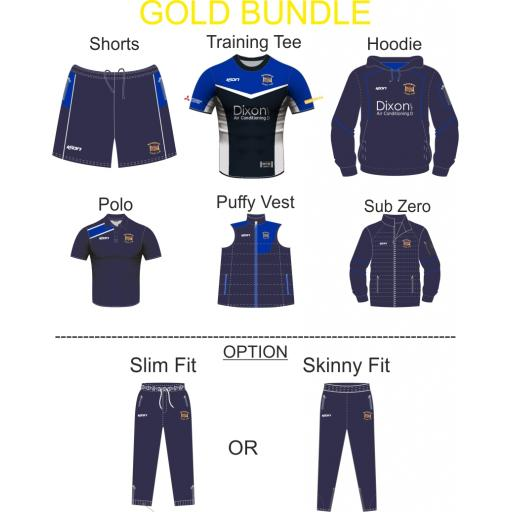 Westhoughton CC Bespoke Gold Bundle