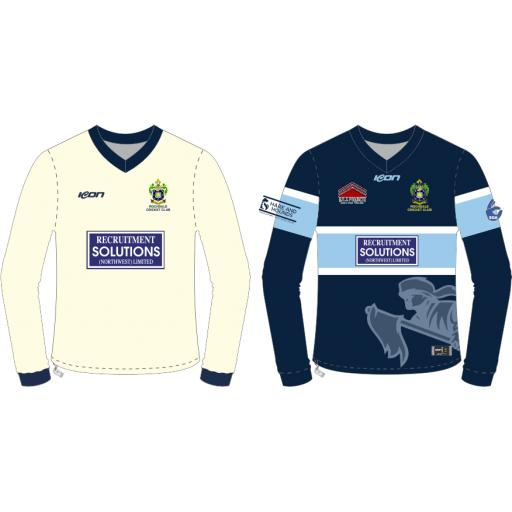 Rochdale CC Reversable Cricket Sweater - Long Sleeve