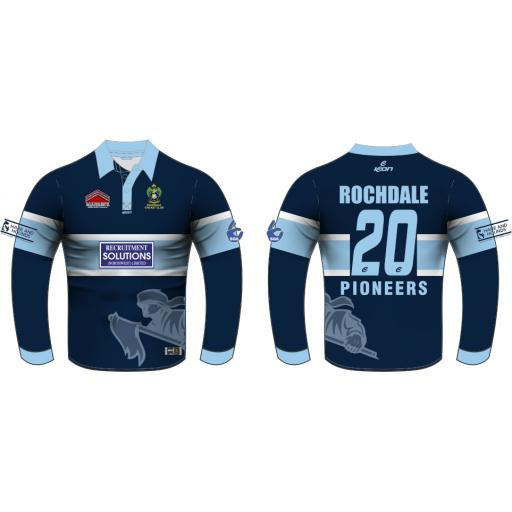 Rochdale CC T20 Shirt - Long Sleeve