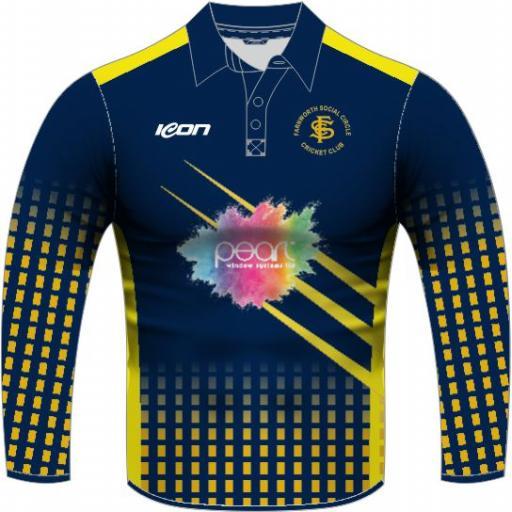 Farnworth Social Circle CC T20 Shirt - Long Sleeve