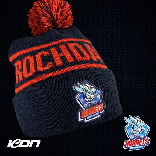 Rochdale Hornets Bobble Hat