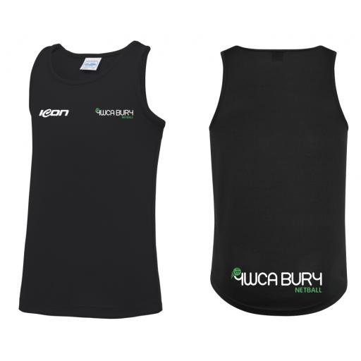 Bury Netball CLUB Training Vest