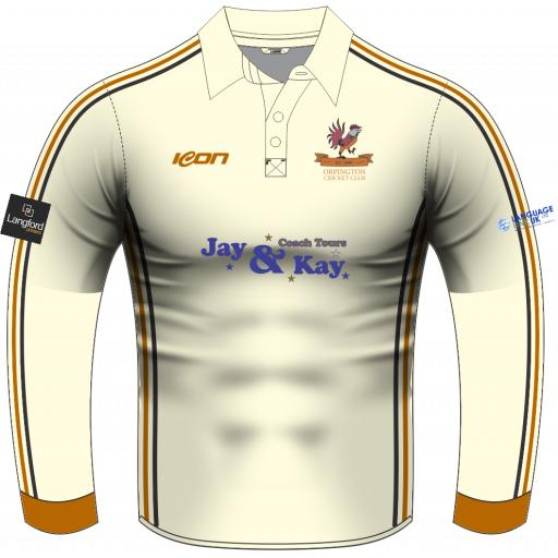 Orpington CC Playing Shirt - Long Sleeve