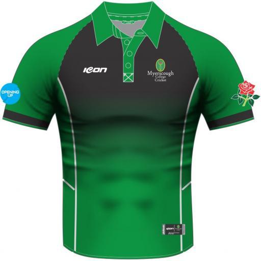 Myerscough Cricket (Preston) Short Sleeve T20 Shirt